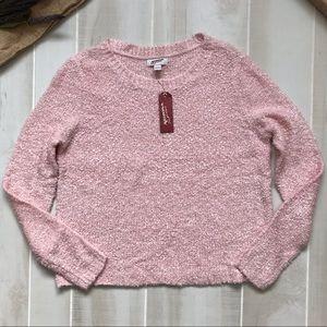 Arizona Jean Co plush sweater size L